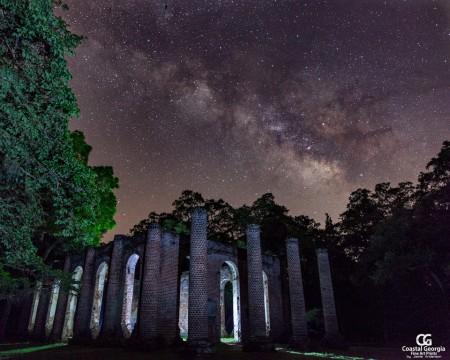 Sheldon Ruins at Night